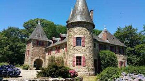 Lagrauliere, France: Vista castello