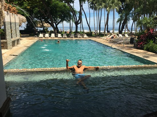 Hotel Tamarindo Diria: open Lobby!