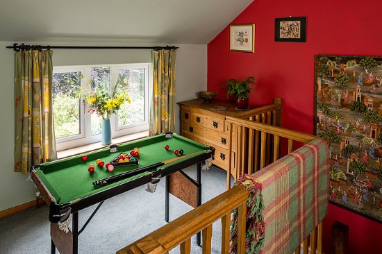 Pontardawe, UK: Snooker table no 1