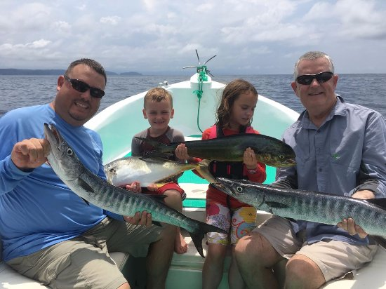 Playa Hermosa, Costa Rica: Family Fun of Fishing in Papagayo Gulf