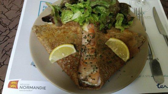 La Chandeleur: assiette copieuse =) un régal