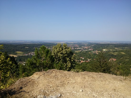 Orahovica, Chorwacja: 3rd, top viewpoint