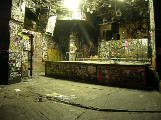 Rock Junket: CBGB's stage