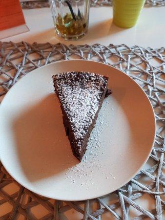 Cossonay, İsviçre: gâteau au chocolat sans gluten