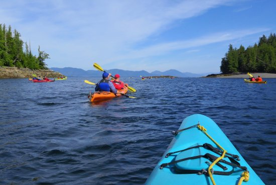 Southeast Exposure Outdoor Adventure Center: On the water, a beautiful day.
