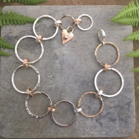 Chester, VT: jewelry handcrafted on site