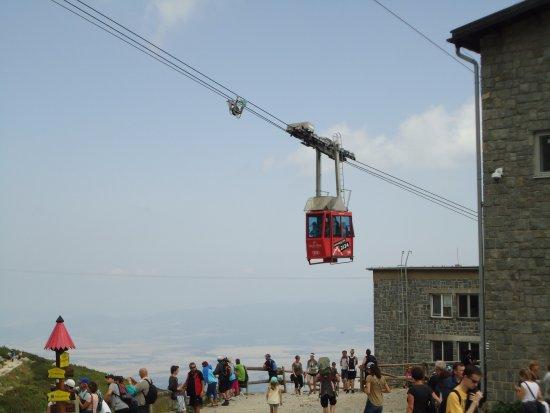 Vysoke Tatry, Eslovaquia: lanovka
