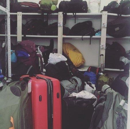 wombat's CITY HOSTEL Budapest: Luggage room