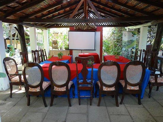 Dolores, Nicaragua: Salon Colibri espacio ideal en contacto con la naturaleza