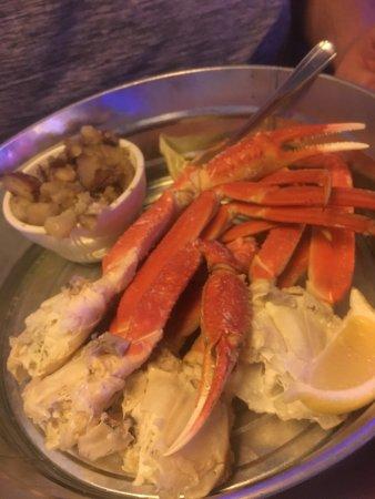 ลอว์เรนซ์วิล, จอร์เจีย: Crab legs and potatoes