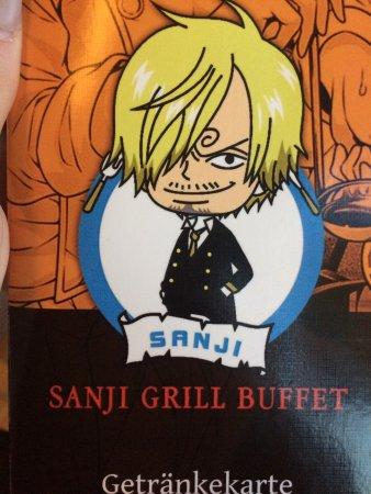 sanji grill essen