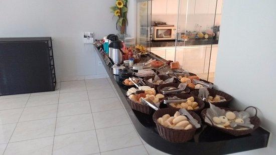 Porteirinha, MG: café da manhã