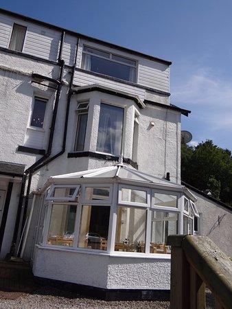 Lochside Guest House : Véranda pour le breakfast