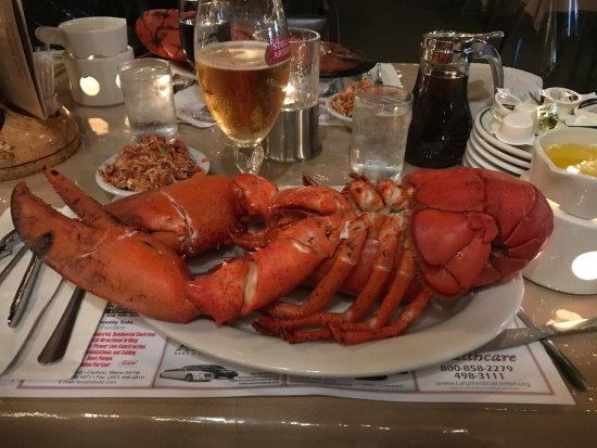 Sinclair, ME: Large steamed Lobster