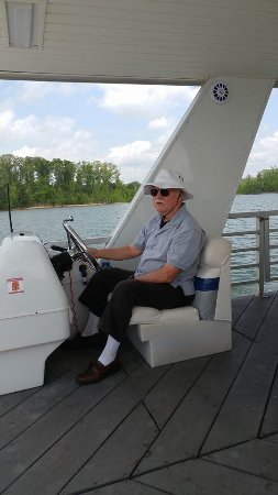 Acworth, GA: Birthday Captain of the Boat