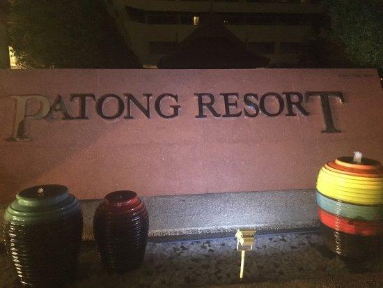 Patong Resort: Hôtel proche du centre