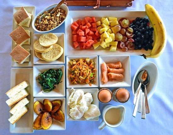 Buccoo, Tobago: Special Breakfast