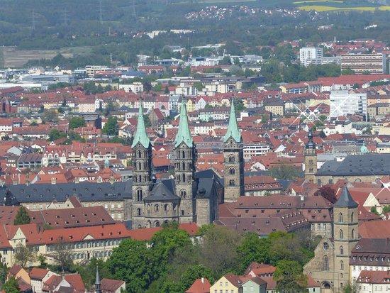 Bamberg Dom from Altenburg