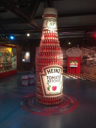 abd912e09 Senator John Heinz History Center: Heinz Tomato Ketchup Bottle made of  smaller bottles!