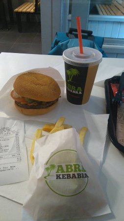 County Wexford, Ireland: Abra Burger Meal
