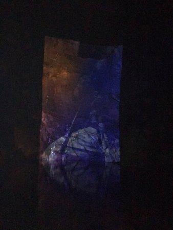 Blaenau Ffestiniog, UK : Illuminated cavern (hard to make out)