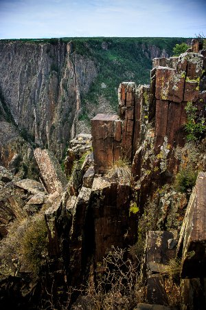 Black Canyon Of The Gunnison National Park, CO: detail
