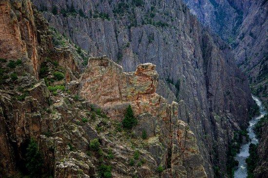 Black Canyon Of The Gunnison National Park, CO: kneeling camel