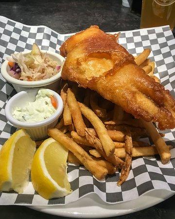 Orangeville, Canada: Fish & Chips