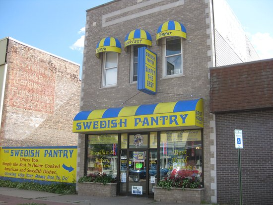 Escanaba, MI: Look for this building downtown. It is easy to spot.