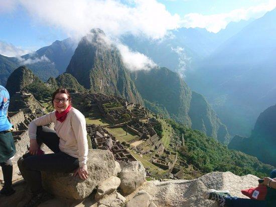 InfoCusco: el ulrimo dia, ya en MAchu Pichu