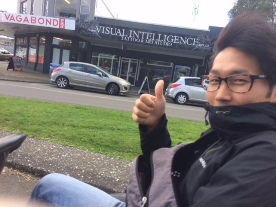 Mount Maunganui, New Zealand: Our student from the Mount Language Center having a blast
