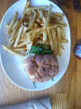 Los Olivos, Califórnia: burger