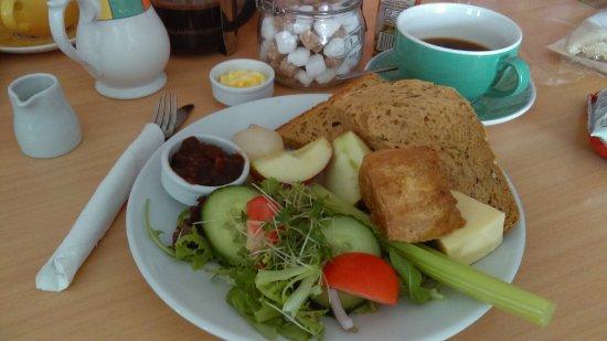 Walsingham, UK: Ploughmans lunch