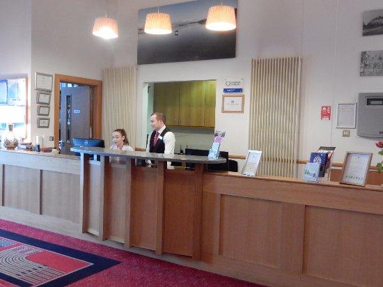 Portrush Atlantic Hotel: Front Desk