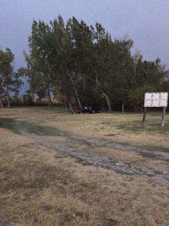 Browning, Μοντάνα: campsite