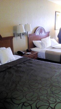 Best Western Of Murphy : Dos camas separadas en 2° piso