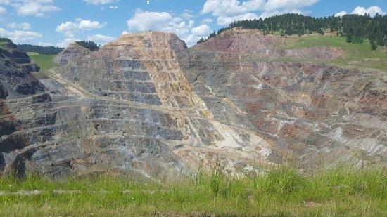 Lead, Dakota del Sur: Open pit