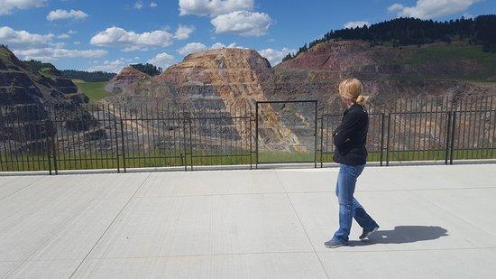 Lead, Dakota del Sur: Viewing area