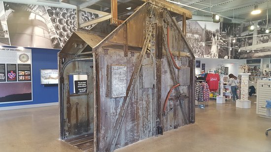 Lead, Dakota del Sur: Mine elevator