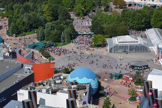 Disney Village: Vue depuis la montgolfière du Disney Village