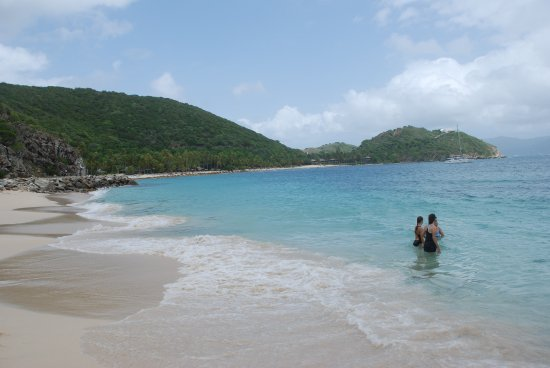 Road Town, Tortola: Enjoying Dead Man's Beach