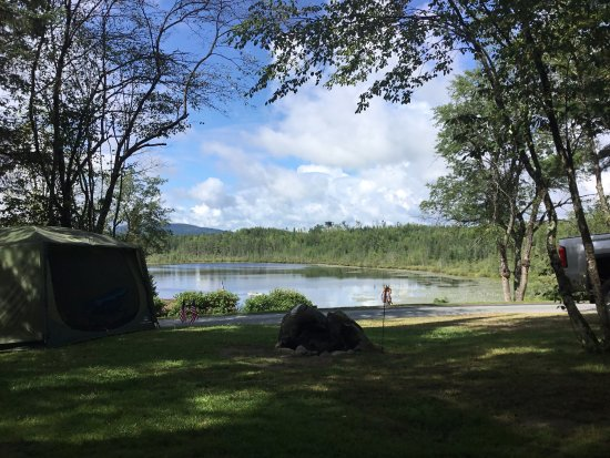 Mountain Lake Campground and RV Park: View from site 5
