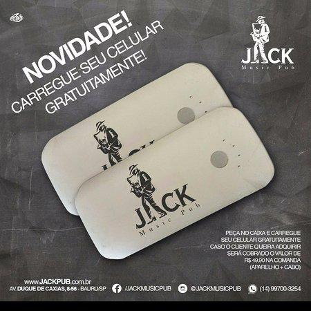 Jack Music Pub: Nossas comodidades!