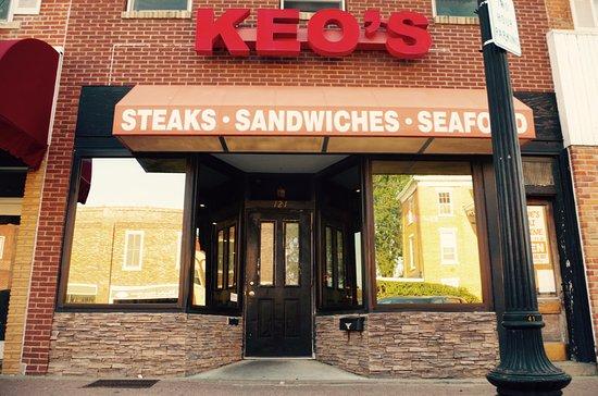 Mount Pleasant, IA: Keo's storefront