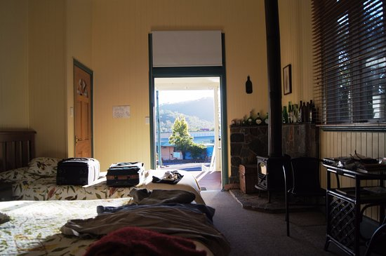 Herberton, Australia: Our room and view.
