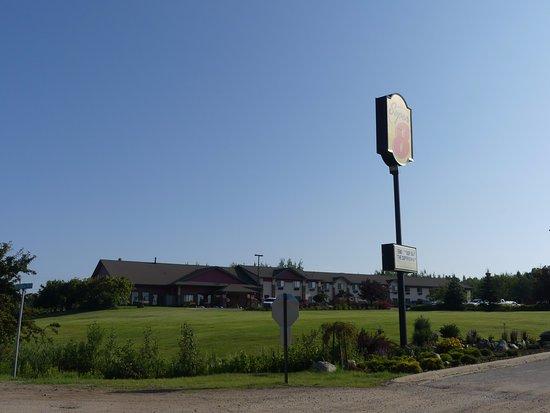 Eveleth, Μινεσότα: view from road