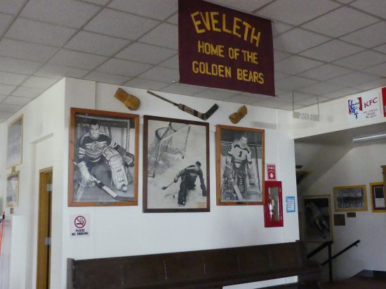 Eveleth, Μινεσότα: hippodrome inside