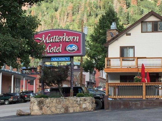 Matterhorn Motel : Outside.
