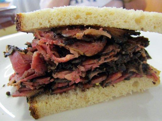 Berkeley Heights, NJ: Goodman's Deli & Restaurant Pastrami Sandwich