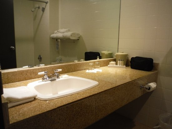 Lonsdale Quay Hotel: CLEAN BATHROOM